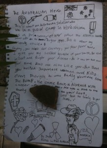 Letter I found at the Peace Memorial July 5, 2010