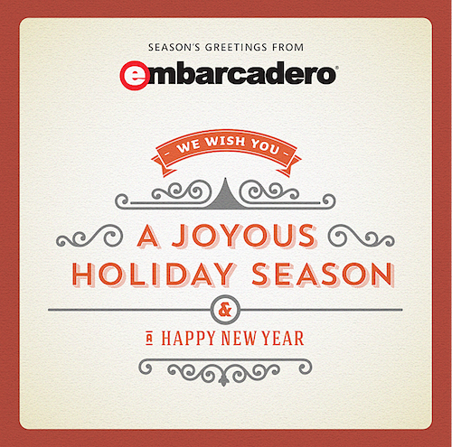 Embarcadero Seasons Greetings 2014