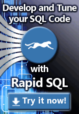Try Rapid SQL Now