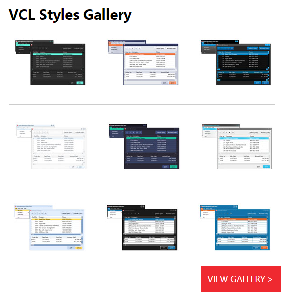 VCLStylesGallery