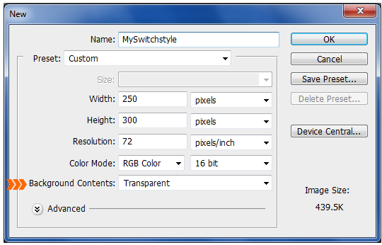 FireMonkey Styles, Part 2: Creating a custom style for TSwitch