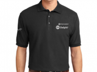 Black Polo Shirt (Delphi /C++)
