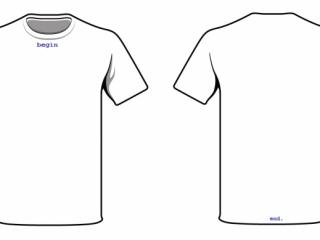t-shirt, not app