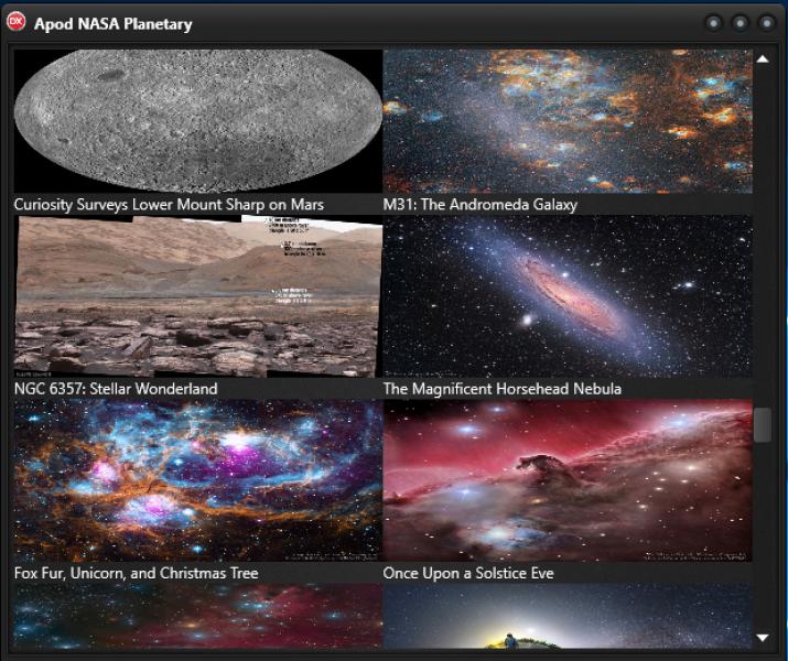 NASA Planetary