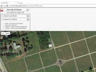 Cemetery Find Plot