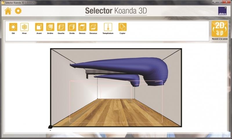 Selector Koanda 3D