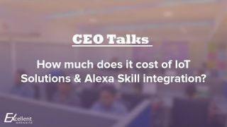 How Much Does it Cost of IoT Solutions & Alexa Skill Integration
