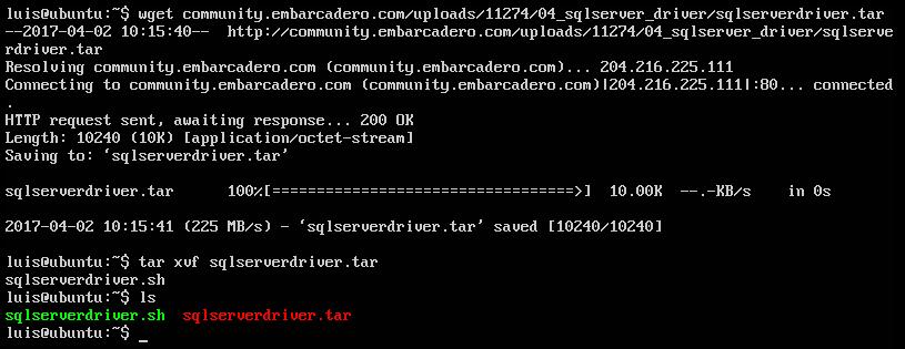 Easy install SQL Server driver in Ubuntu - Community Blogs