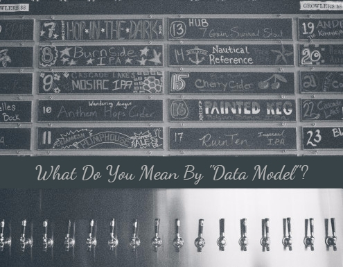 The Big Data Modeling Question...