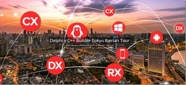 Delphi y C++ Builder Tokyo Iberian Tour (Danysoft)