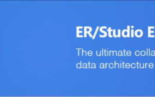 ER/Studio Enterprise Team edition - Future of Data Modeling is here!