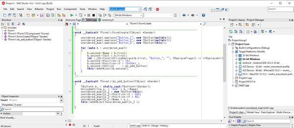 C++Builderでstd::unordered_mapを使う[JAPAN]