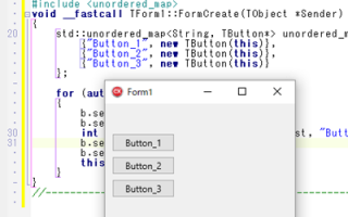 Using unordered_map with C++Builder.