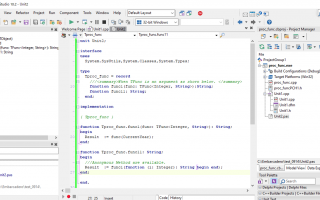 How to handle data in TFunc with C++Builder(BCC32)