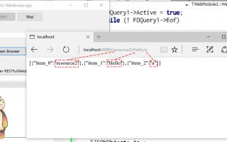 How to make RESTful WebBroker using C++Builder
