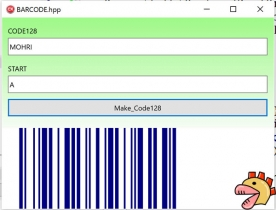 How to write in C++Builder Firemonkey. Make a barcode.