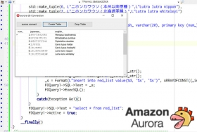 AWS AuroraにFireDAC接続[JAPAN]