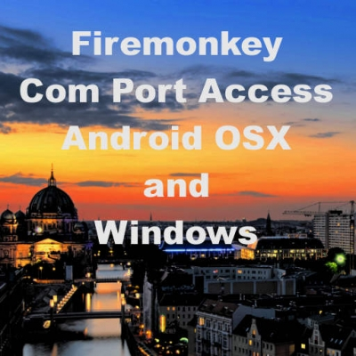 Access FTDI, Prolific, USB, And Serial COM Ports With Firemonkey In Delphi 10 Berlin On Android And Windows