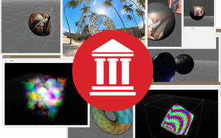Eight 3D Demos Featuring Volume Rendering, Textures, Shaders, Materials, Polygons, And Models In Delphi FireMonkey