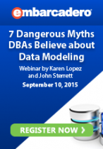 7 Dangerous Myths DBAs Believe about Data Modeling