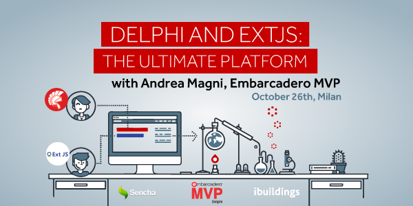 Join Andrea Magni in Millan for a Special ExtJS Event