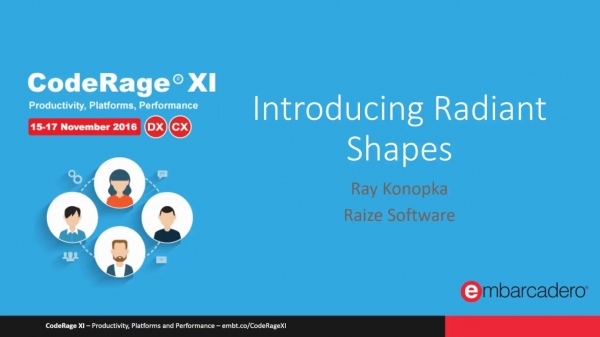 Effectively Using Radiant Shapes with Ray Konopka