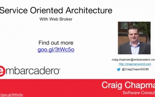 Service Oriented Architecture with WebBroker
