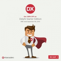 Delphi Starter Edition at 100% off