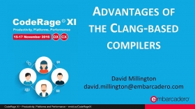 Advantages of the Clang-Based compilers with David Millington
