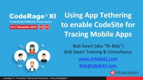 Using App Tethering to enable CodeSite for Tracing Mobile Apps with Bob Swart