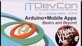 Arduino control via C++Builder Mobile apps with Victory Fernandes