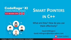 Smart Pointers in C++: What, Why, and How with David Millington