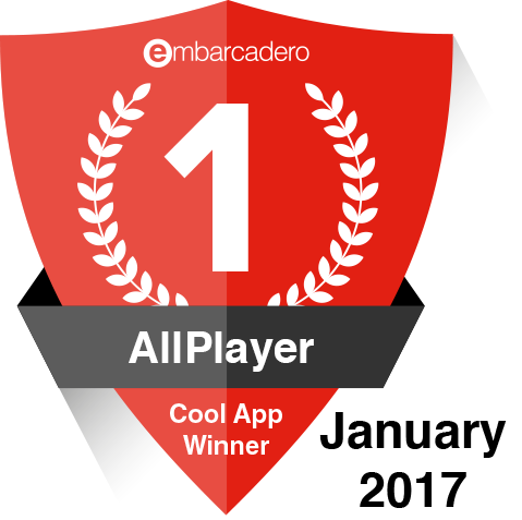 Cool App Winner - AllPlayer