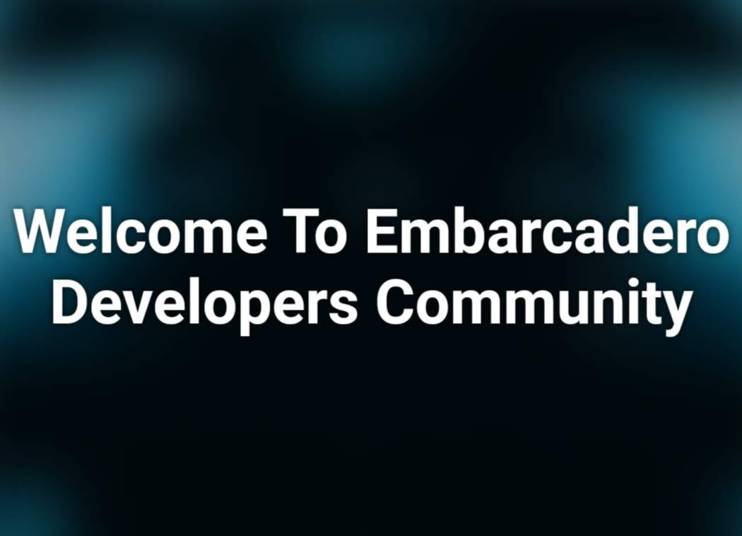 Announcing the New Embarcadero Developer Community