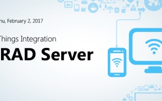 Webinar Replay: Internet of Things Integration with RAD Server