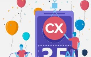 "std::out &lt&lt ""Happy 35th birthday, C++!"""