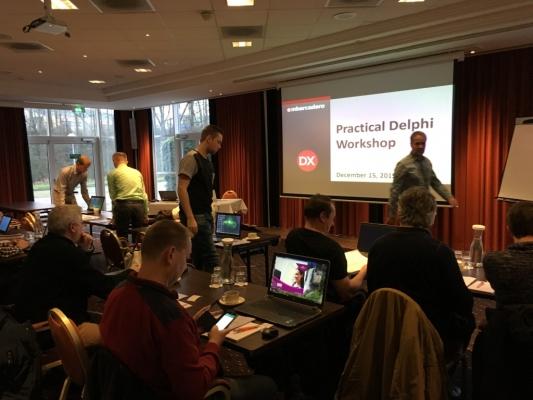"""Delphi Practical Workshop"" in Hoofddorp yesterday was great fun!"