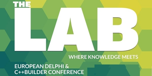 The LAB: Delphi and C++Builder conference, Sept 19th, NL