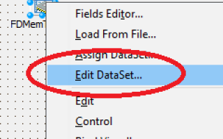 New in 10.2: Editing Data in TFDMemTable at Design-Time