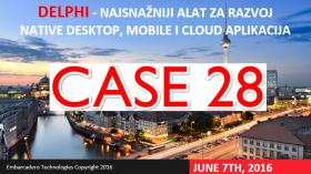 CASE28 Conference in Croatia Delphi Presentation Today