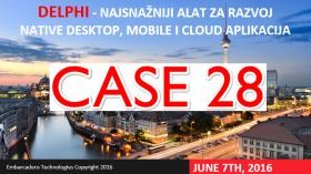 CASE28 Conference in Croatia Delphi Presentation Today