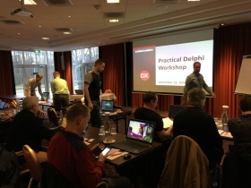 """Delphi Practical Workshop"" in Hoofddorp yesterday was great fun!"