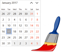 TCalendarView Custom Painting