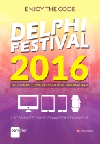 Enjoying The Code on Delphi Festival 2016 in The Netherlands