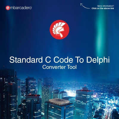 C-To-Delphi Converter Tool Can Quickly And Easily Help You Convert Standard C Code To Delphi