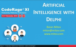 Build Artificial Intelligence Into Your Servers And Apps With Delphi & C++Builder