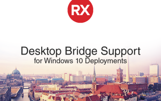 Embarcadero Announces RAD Studio Desktop Bridge Support for Windows 10 Deployments