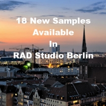 18 Code Samples Highlighting New Features In RAD Studio Berlin