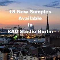 18 Code Samples Highlighting New Features In RAD Studio Berlin