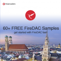 Sixty Plus FireDAC Sample Apps With Source To Make Accessing Databases Easy
